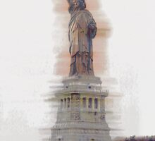 Lady Liberty #2 by Benedikt Amrhein