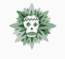 The Day of the Dead Green T Shirt by Fangpunk
