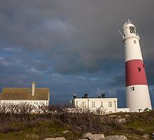 Portland Bill Storm by bethadin