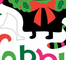 Happy Catiday Holiday   Sticker