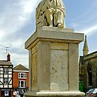 Dr Samuel Johnson Seated Statue, Lichfield  by Rod Johnson