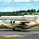 Israeli C-130H 102 Entebbe Veteran by Colin Smedley