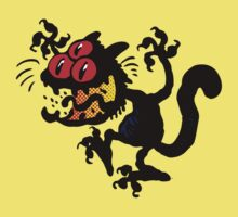Cartoon Scaredy Cat T-Shirts by Cheerful Madness!! Kids Clothes