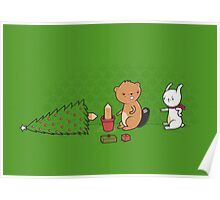 Beavers ruin christmas Poster