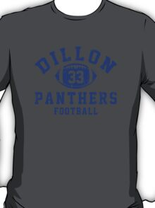 Dillon Panthers Football - 33 Gray T-Shirt