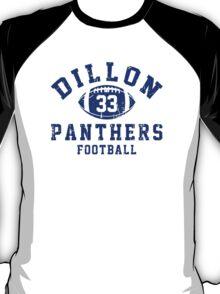 Dillon Panthers Football - 33 Gray T-Shirt