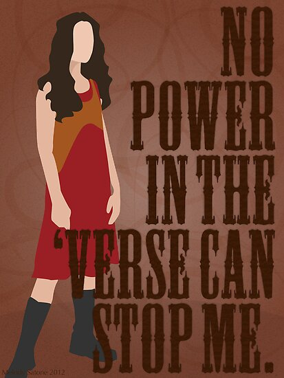 River Tam - No Power In The 'Verse Can Stop Me by forevermelody