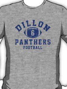 Dillon Panthers Football - 6 Gray T-Shirt
