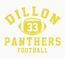 Dillon Panthers Football - 33 Blue Kids Clothes