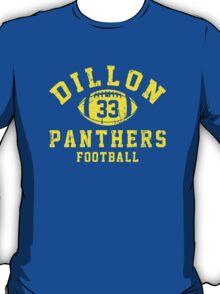 Dillon Panthers Football - 33 Blue T-Shirt