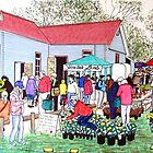 The Tallarook Farmers Market- Country Victoria by widdy