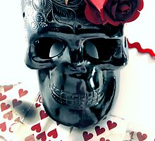 skull n rose by GabeArroyo78