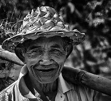 Old Balinese Man by Janko Dragovic