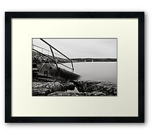 Step into another world Framed Print