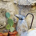 Still life of earthy tones in Roussillion, Provence, France by Millie Brown