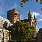 St Albans Abbey Portrait, Autumn 2012 by Samantha Creary