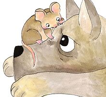 Gustav The Mouse (2/3) by Ellen Stubbings