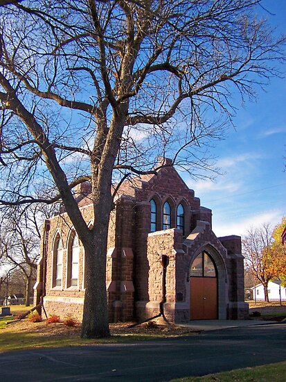 Glidden Memorial Chapel by Greg Belfrage