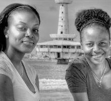 Raeven & Synamon at Arawak Cay in Nassau, The Bahamas by 242Digital