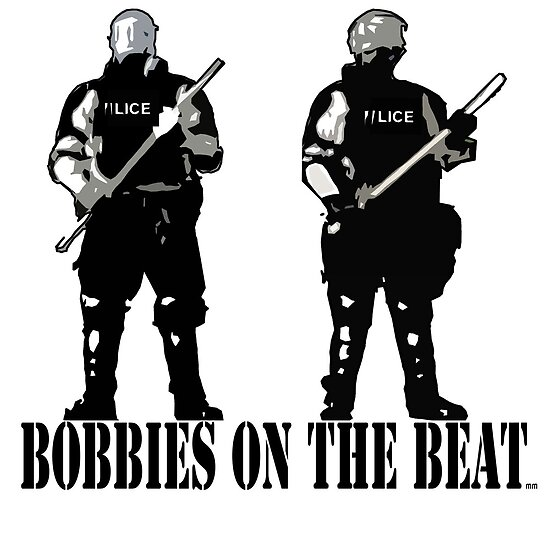 Bobbies on the beat by mouseman