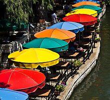 Umbrella Row by Rob Atkinson