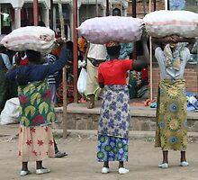 Street photo - Rwanda 1  by Jenny  Riley