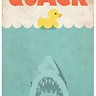 Jaws Rubber Duck &#x27;Quack&#x27;  by Creative Spectator