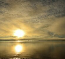 Sunset across the Moray Firth by Steve