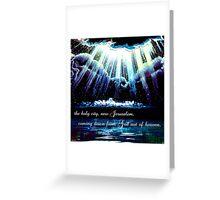 New Jerusalem : the bride Greeting Card