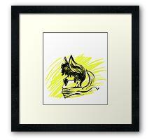 Yellow Breeze Framed Print