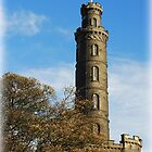 Nelson's Monument Edinburgh by Francis  McCafferty