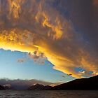 Sunset over Lake Coleridge, New Zealand by craftybadger