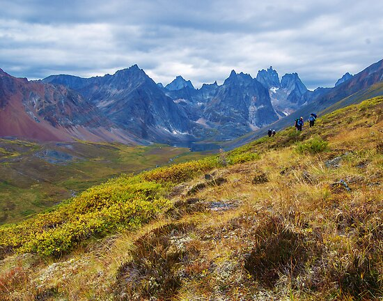 Hiking out of Grizzly Lake by Yukondick