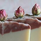 Rosebud Coconut Milk Soap by Kathy Reid