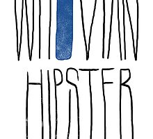 Whovian Hipster by typofuerte