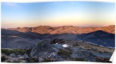 Towards Mt Feathertop by Mark  Lucey