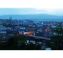 Derry at dusk Photographic Print