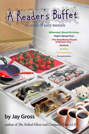 A Reader's Buffet - Front Cover by Jay Gross