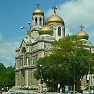 cathedral of the Assumption of the Virgin Mary, Varna, Bulgaria by Margaret  Hyde