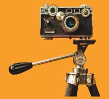 Vintage Argus Camera & Tripod by Peter B