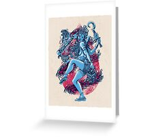 Kali Greeting Card