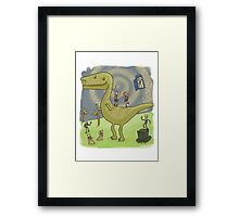 Party with the Ponds Framed Print
