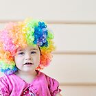 Clown. by Bec Stewart