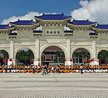 Chiang Kai-Shek Memorial Hall by TonyCrehan