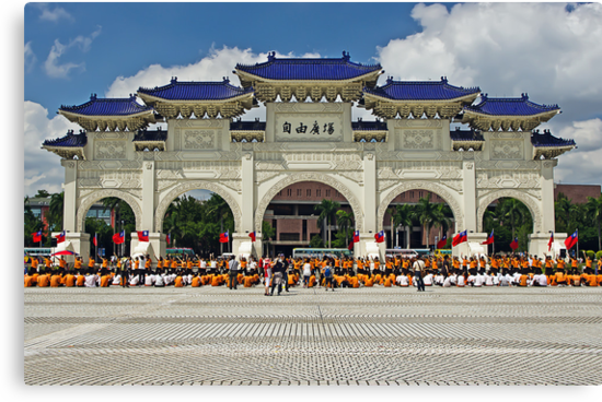 Chiang Kai-Shek Memorial Hall by TonyCrehan