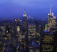 Lights of Manhattan by Mark Wilson