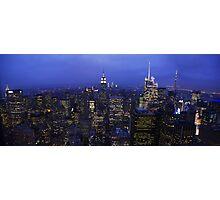Lights of Manhattan Photographic Print