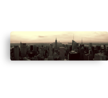 Manhattan Morning Canvas Print