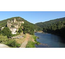 Old Castle near the Tarn River Photographic Print
