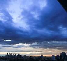 Early morning sky over Sydney, Australia by Sharpeyeimages